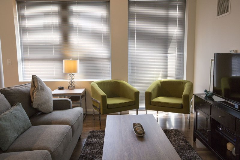 Stay Alfred Boston Vacation Rental Living Room
