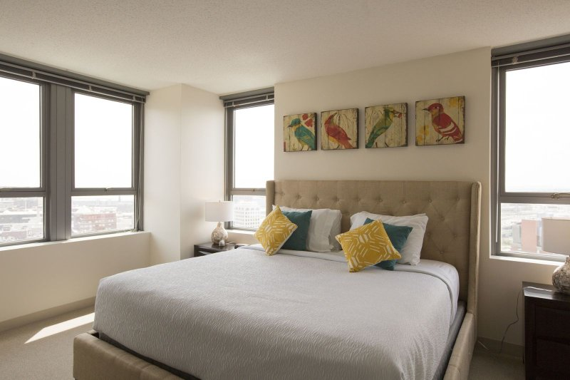 Stay Alfred Boston Vacation Rental Bedroom