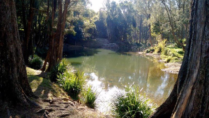 trou de natation d'eau douce à proximité et le parc de pique-nique ... 2 km à pied