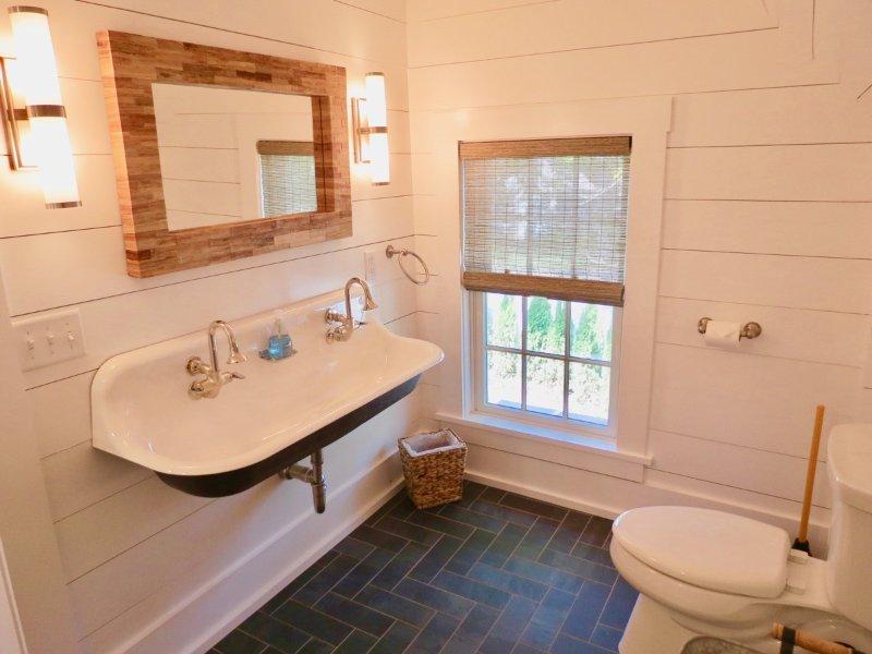 Banho completo no 2º nível