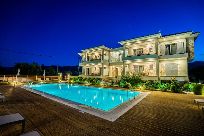 apartment for 4-5 travellers, holiday rental in Alykanas