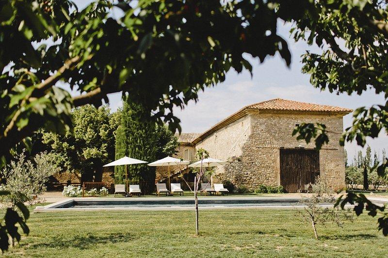Le Petit Roulet - Mas d'exception au coeur de la provence, location de vacances à Cabannes