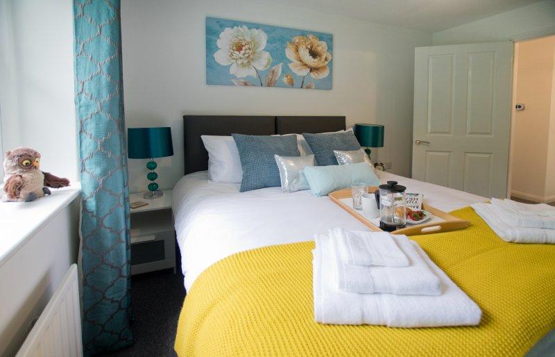 'Park House' a modern 1 bed house – semesterbostad i Dogmersfield
