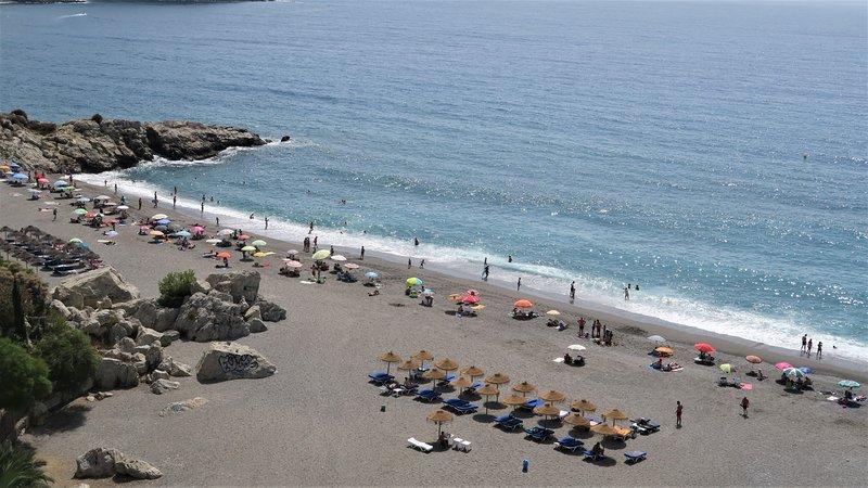 Excelent beach frontline App. 'Elomar' WiFi, A/C, fantastic seaview, alquiler de vacaciones en Almuñécar
