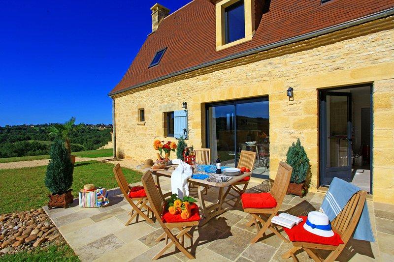 The terrace Malonie