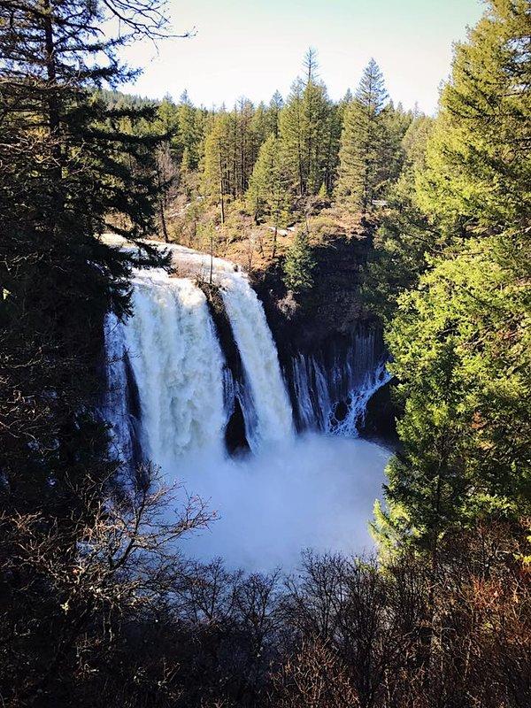 Burney Falls est un must!