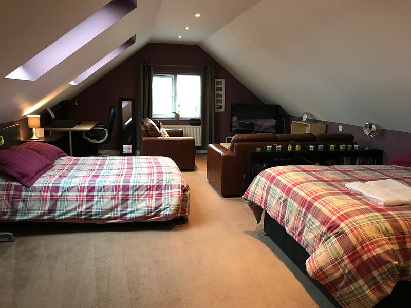 Studio with 2 king size beds