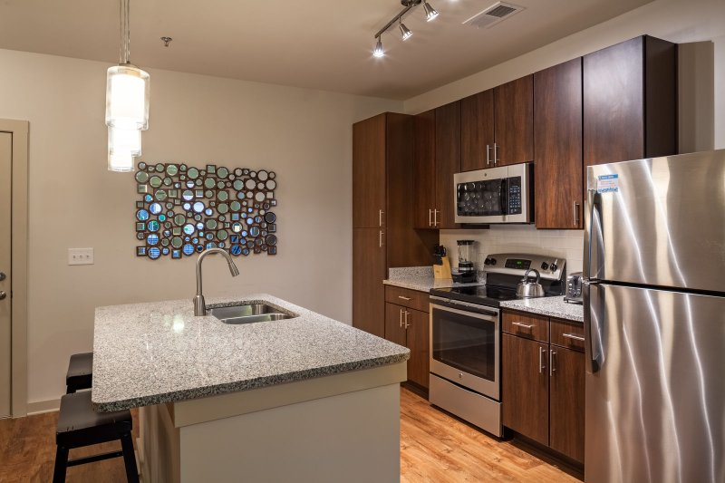 Stay Alfred on Ponce De Leon Avenue Full-Sized Kitchen. Enough space to cook any meal.