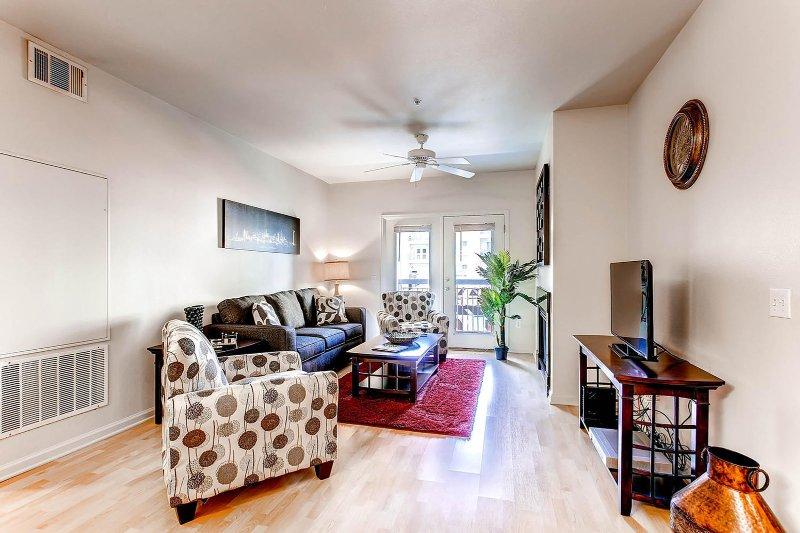 Blijf Alfred Denver Vakantiewoning Living Room