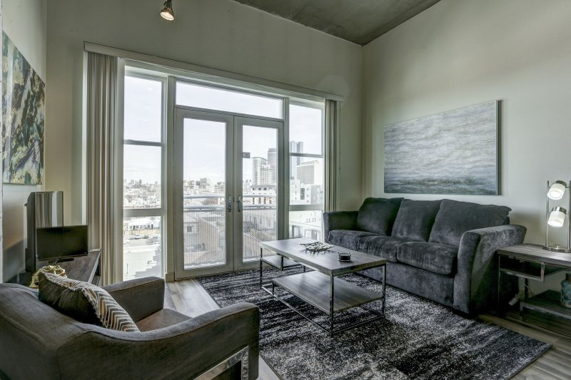 Stay Alfred Premier Lofts - Living Room