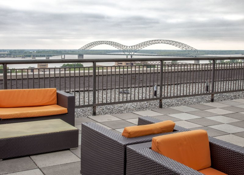 Stay Alfred Memphis Vacation Rental Community Patio