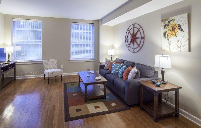 Stay Alfred Memphis Vacation Rental Sala de estar