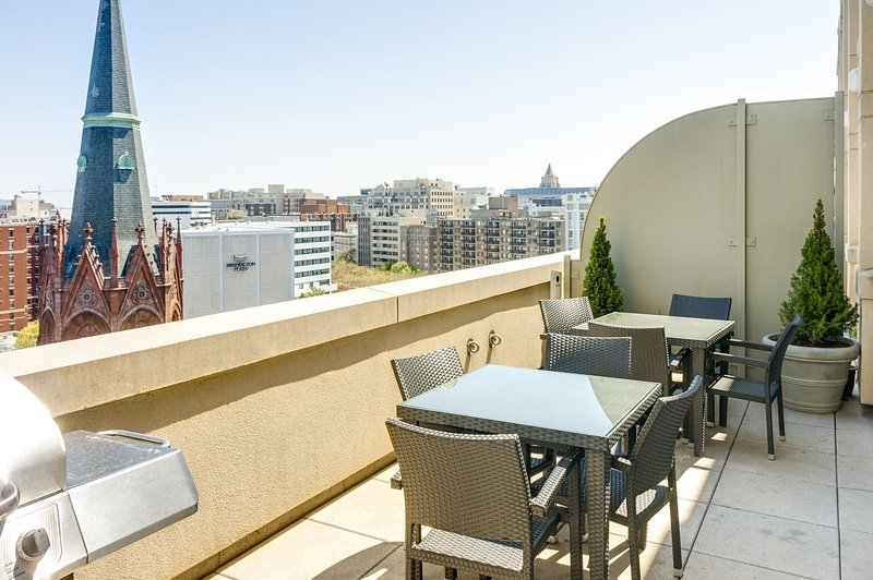 Stay Alfred Washington D.C. Vacation Rentals Rooftop Terrac e