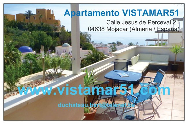 HOLIDAY APARTMENT with seeview, vacation rental in Mojacar