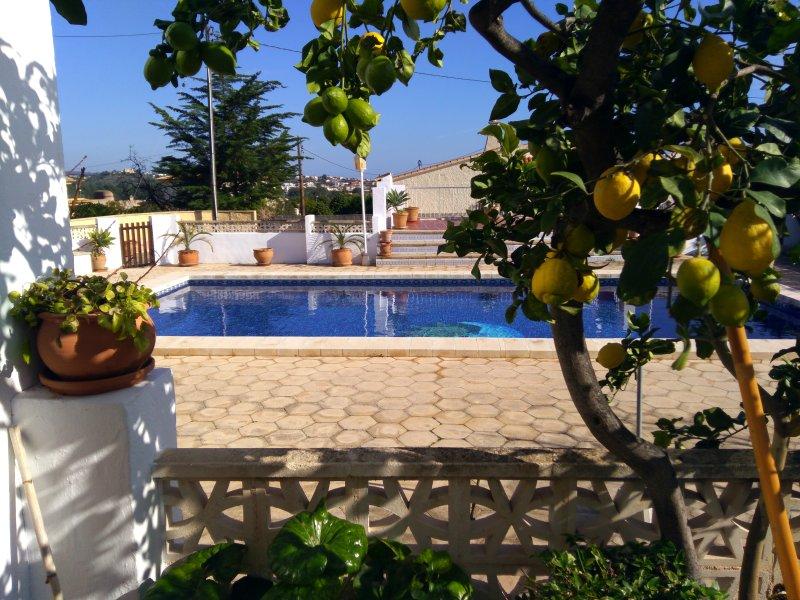 Entre campo y playa, holiday rental in Calpe