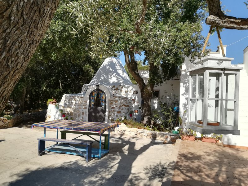 TRULLO ALESSANDRO VICINO MARINA TORRE GUACETO, holiday rental in San Vito dei Normanni