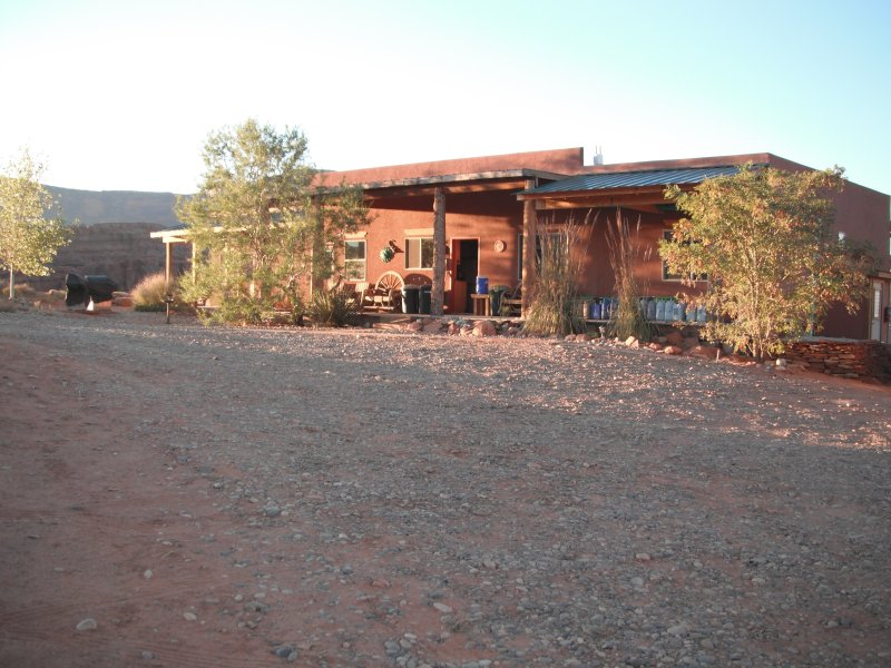 Outside view of the lodge