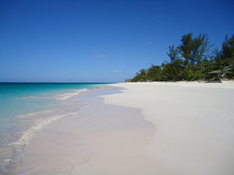 Meilen von Pink Sand.