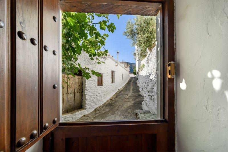 Views from inside door.