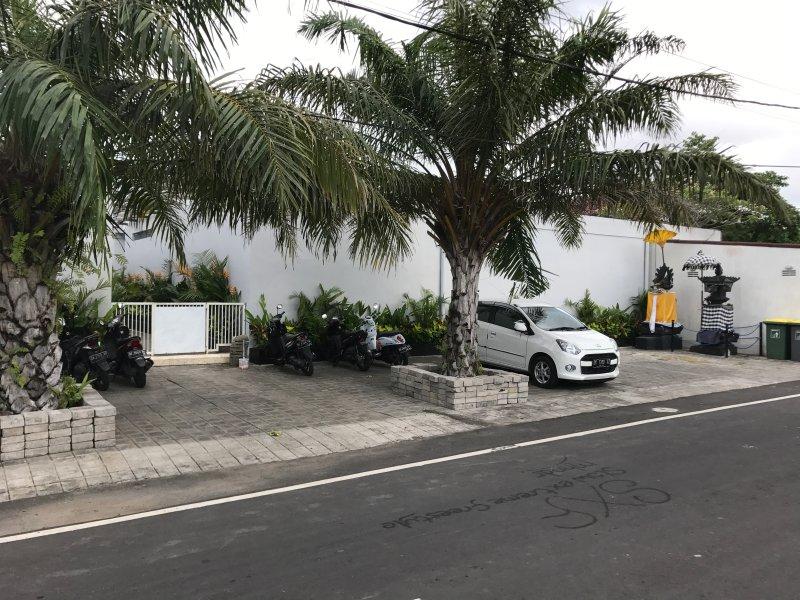 Front Of Villa Complex