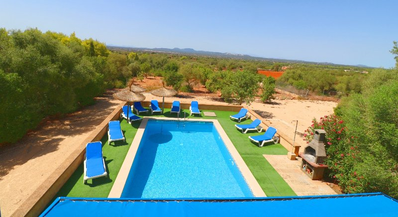 Sa Pedrera, wifi free, private pool, vacation rental in Campos