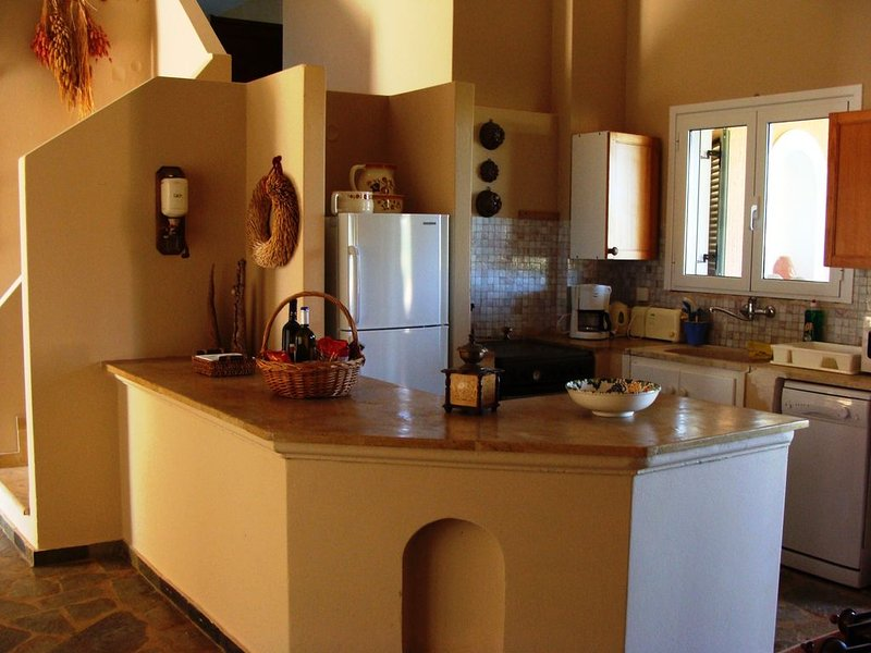 Översta våningen kök