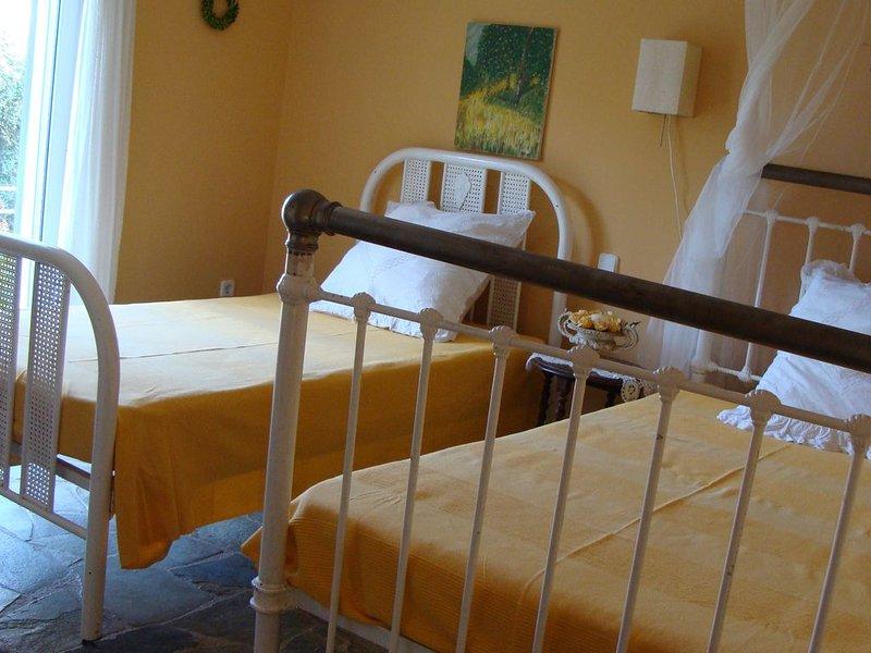 Översta våningen gula rummet