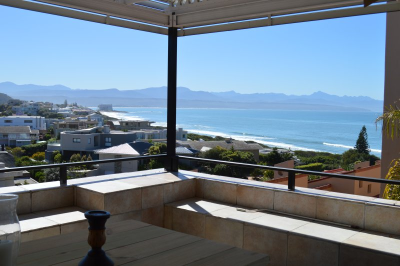 Spectacular sea and mountain views as seen from the stunning penthouse patio. See for miles around!
