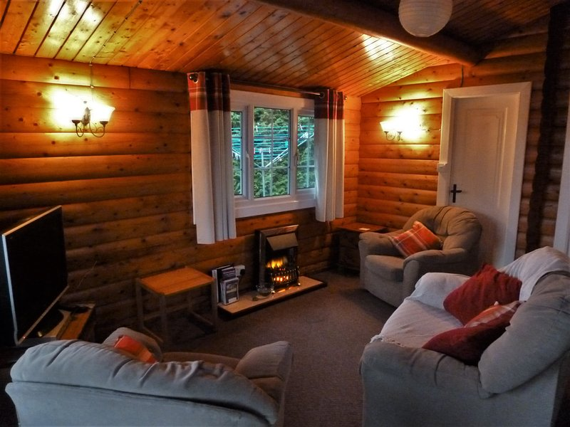 Snowdonia Lodge Retreat, cabin 209., vacation rental in Gellilydan