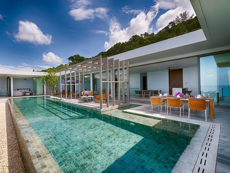 Malaiwana - Penthouse (B1), 4BR, Naithon Beach, vakantiewoning in Nai Thon