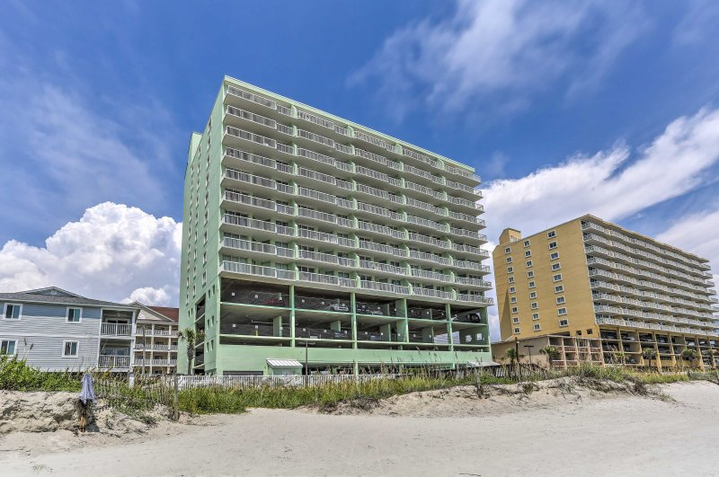 You and your loved ones will love the beachfront location of the condo community