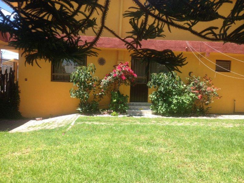 Casa campestre cerca Cacaxtla, casa vacanza a San Martin Texmelucan de Labastida