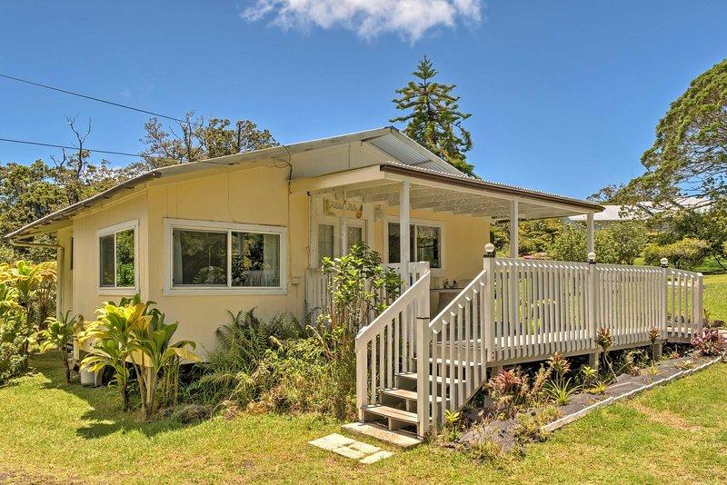 Serene 'Halakea Hale' Cottage by Volcano NTL Park!, location de vacances à Volcano