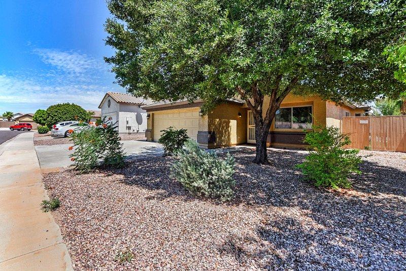 Diese Überraschung Haus ist ideal für Ihr nächstes sonniges Arizona Wochenend!