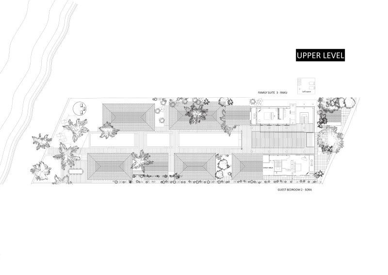 Villa Akatsuki Lipa Noi Koh Samui - Floor Plan