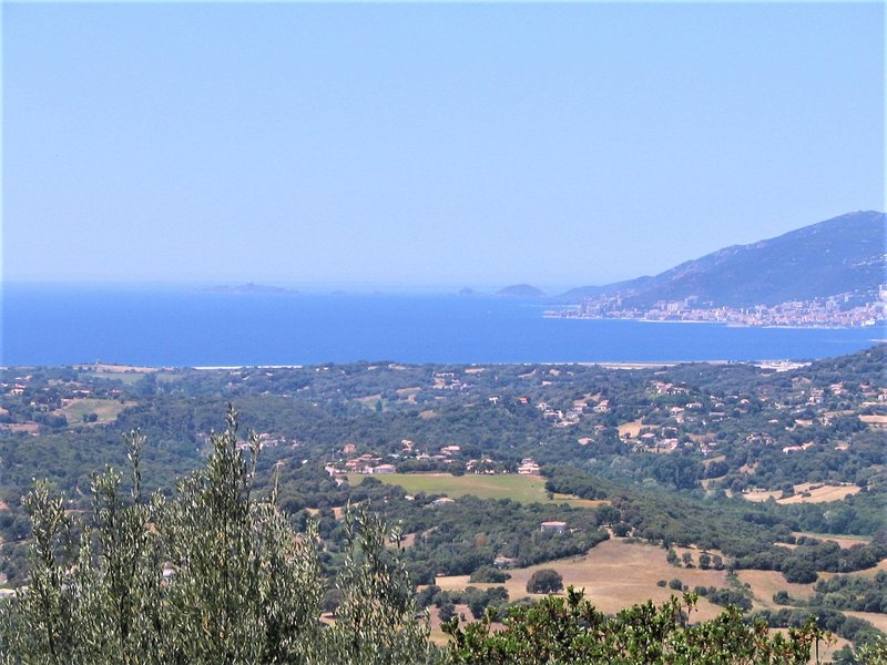 View of the bloody islands - Gulf Ajaccio