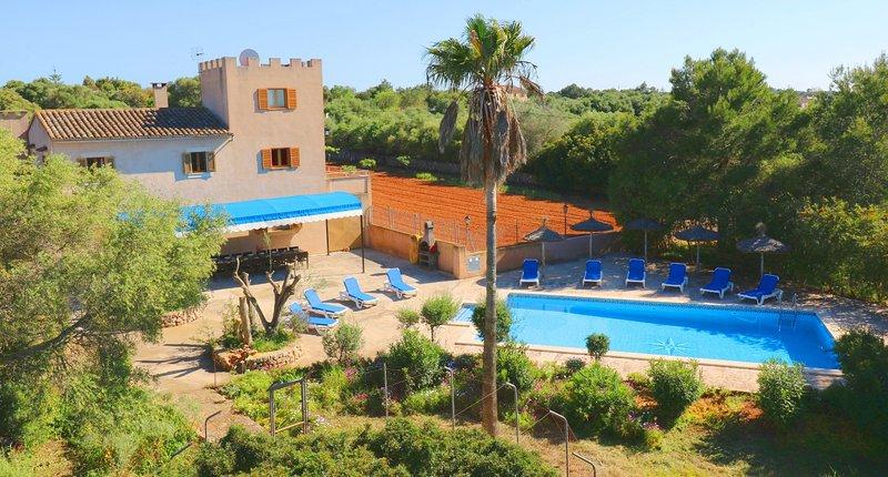 Can Palea, wifi free, private pool, alquiler de vacaciones en Campos