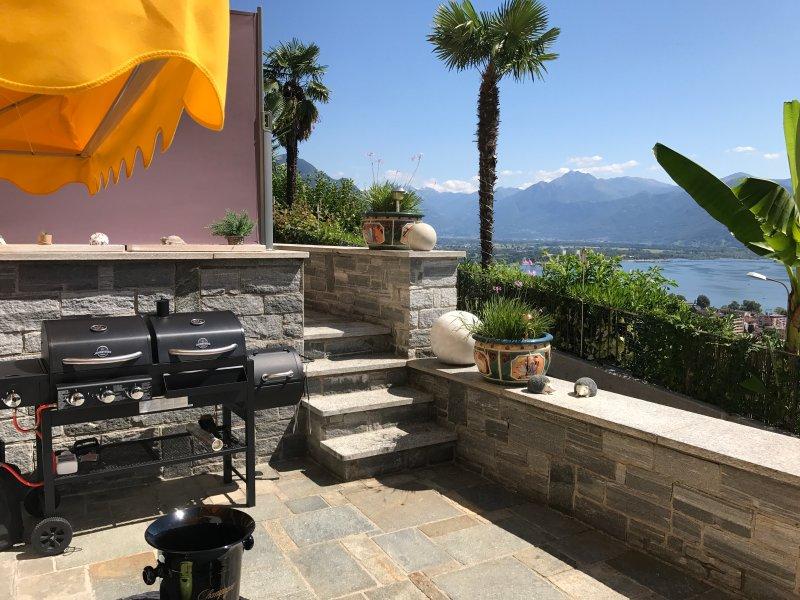 Villa Kaissini, holiday rental in Brione sopra Minusio