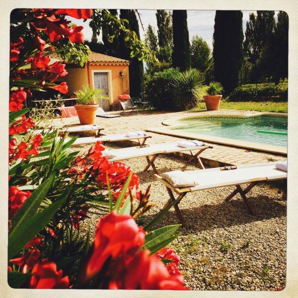 TULEDETA, MAS IN Drôme Provençale, WITH POOL, WIFI, VINES