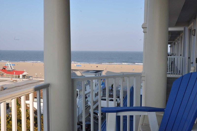 View toward Beach from Balcony