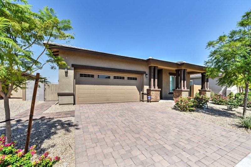 Escape to this beautiful vacation rental house in Litchfield Park.
