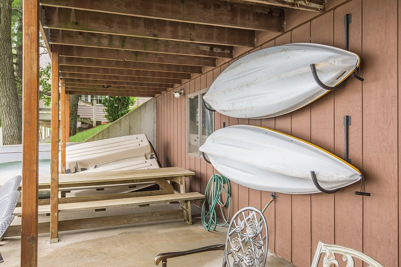 jouets Lac. de kayak, canoë et bateau à rames.