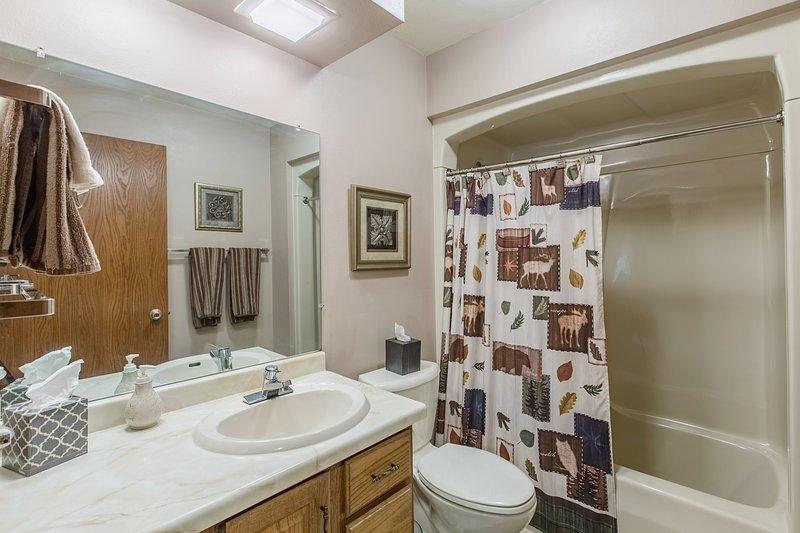 Salle de bain couloir commun