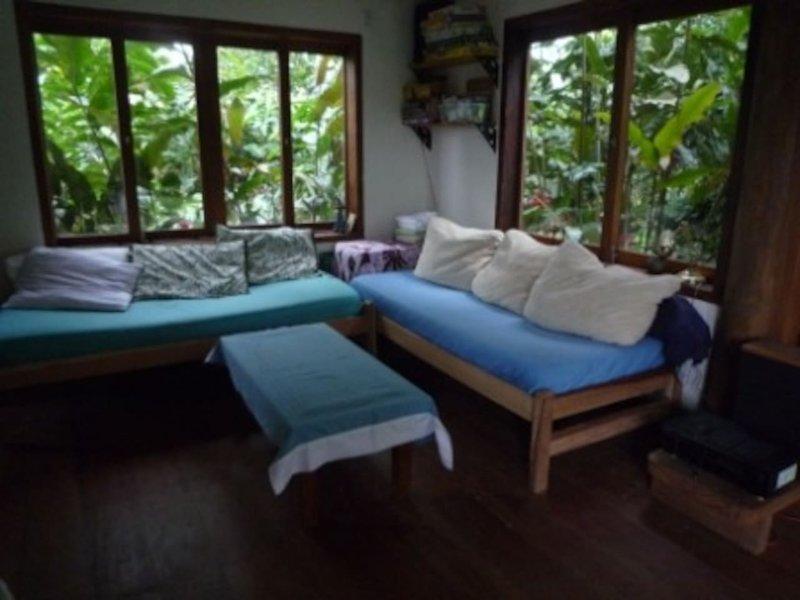Spacious suite, wifi, kitchen, garden nr. Historic Paraty, aluguéis de temporada em Jabaquara