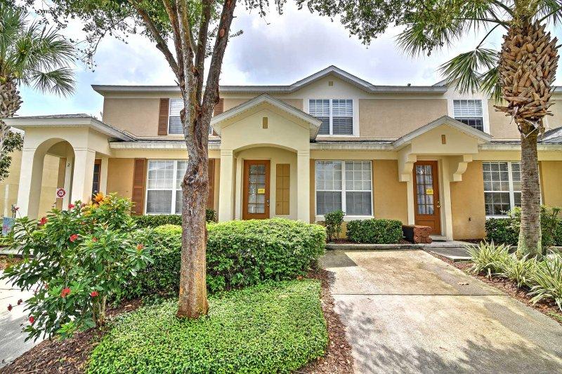 Esta casa es su perfecto hogar lejos del hogar y destino de Disney!
