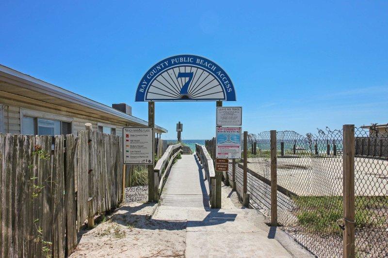 Op steenworp afstand van het strand, er is geen limiet aan het plezier dat je zult hebben tijdens uw verblijf.