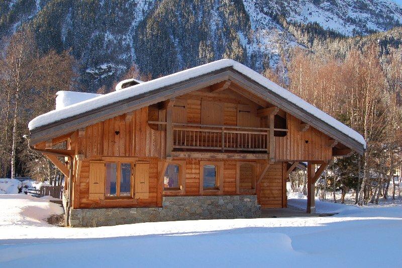 Chalet Bonheur in winter