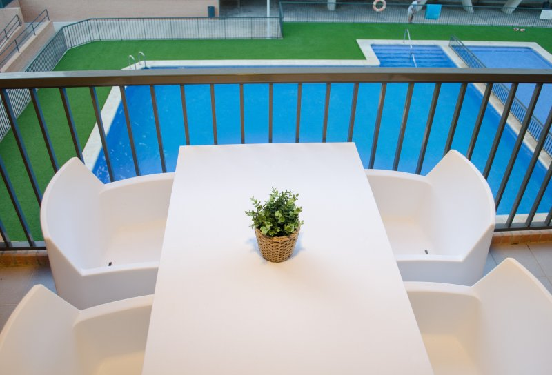 ApartUP Patacona Pool Views AACC+WiFi+Prk+Pool, holiday rental in Valencia