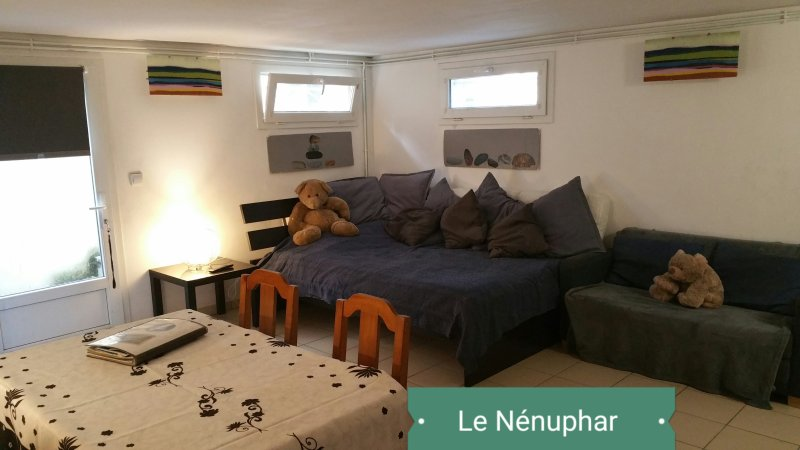 Studio entre Paris et Disney - 'Le Nénuphar', holiday rental in Chelles