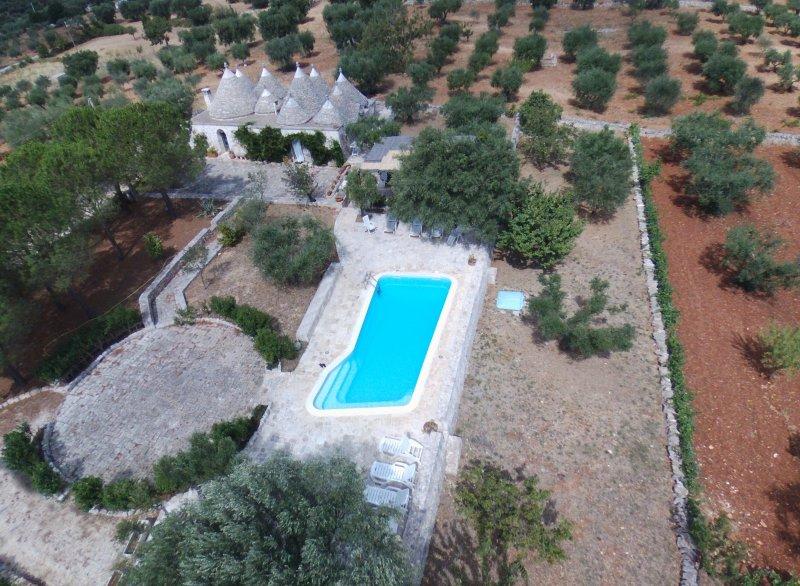Trullo Dimora della Valle - Valle d'Itria, vacation rental in Locorotondo